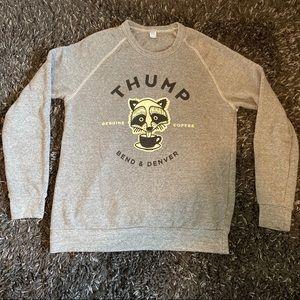 Alternative Apparel fleece crew neck sweatshirt